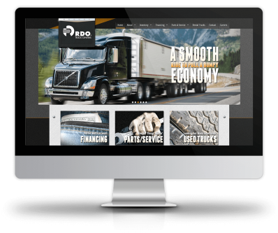 RDO Truck Center - New Site