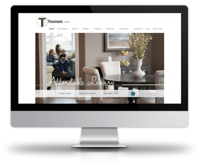 Thomsen Homes - New Site